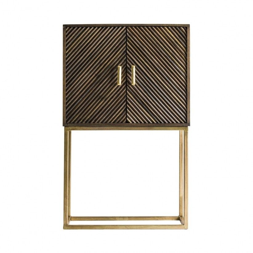 Mueble bar oro antique