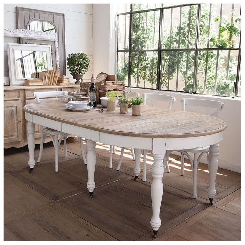 Best comedor blanco vintage gallery casas ideas for Comedor vintage blanco