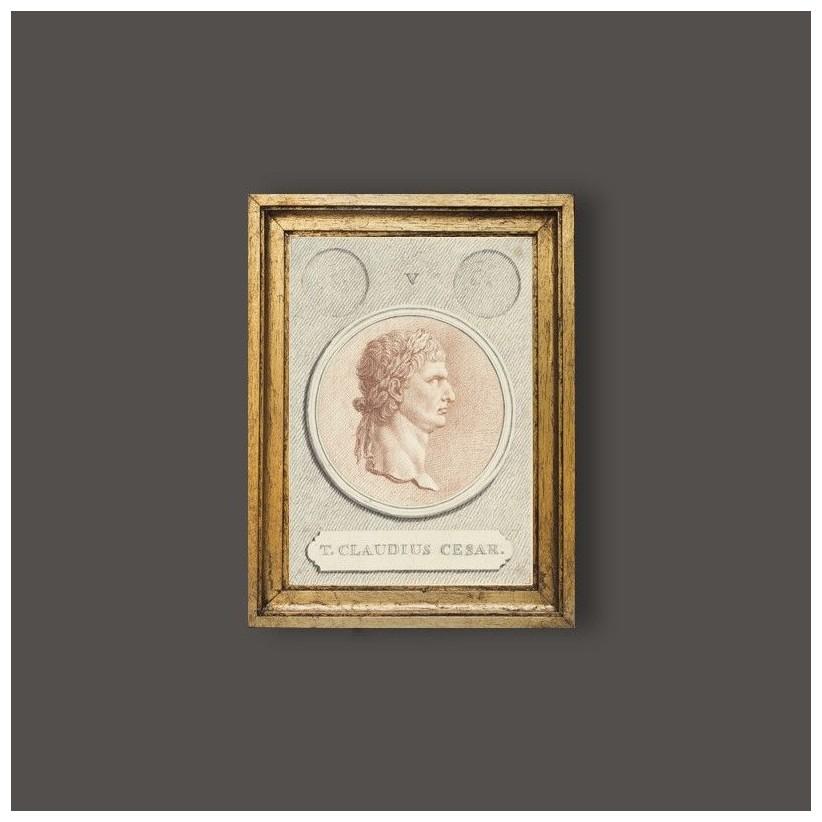 Cuadro del emperador romano Claudio