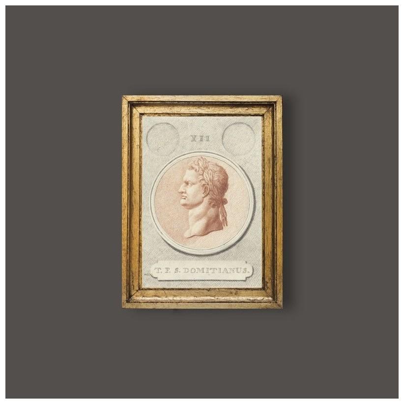 Cuadro del emperador romano Domiciano.