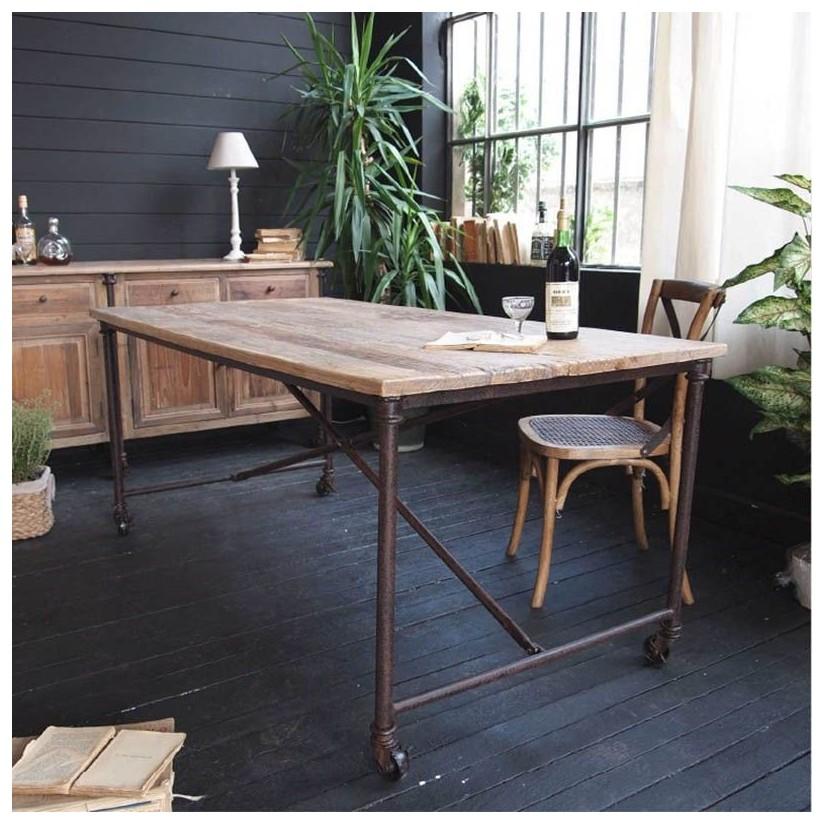 Comprar Mesa Comedor Industrial - Muebles, Muebles Estilo Industrial